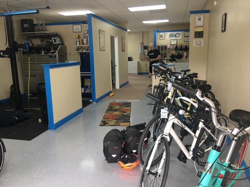 Inside Lab Cyclery